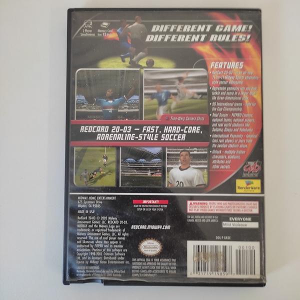 RedCard 2003 - Nintendo GameCube - Usado