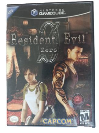 Resident Evil 0 - USADO - Nintendo GameCube