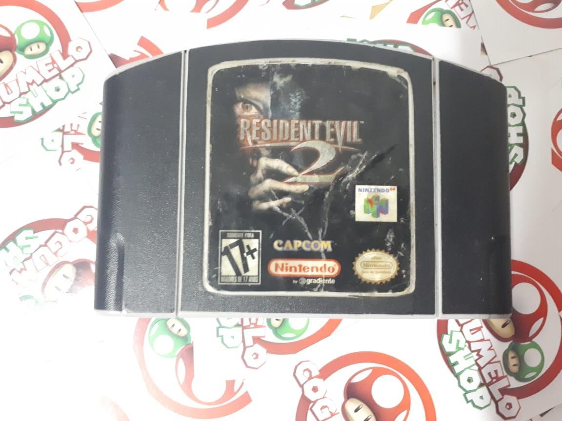 Resident Evil 2 - USADO - Nintendo 64