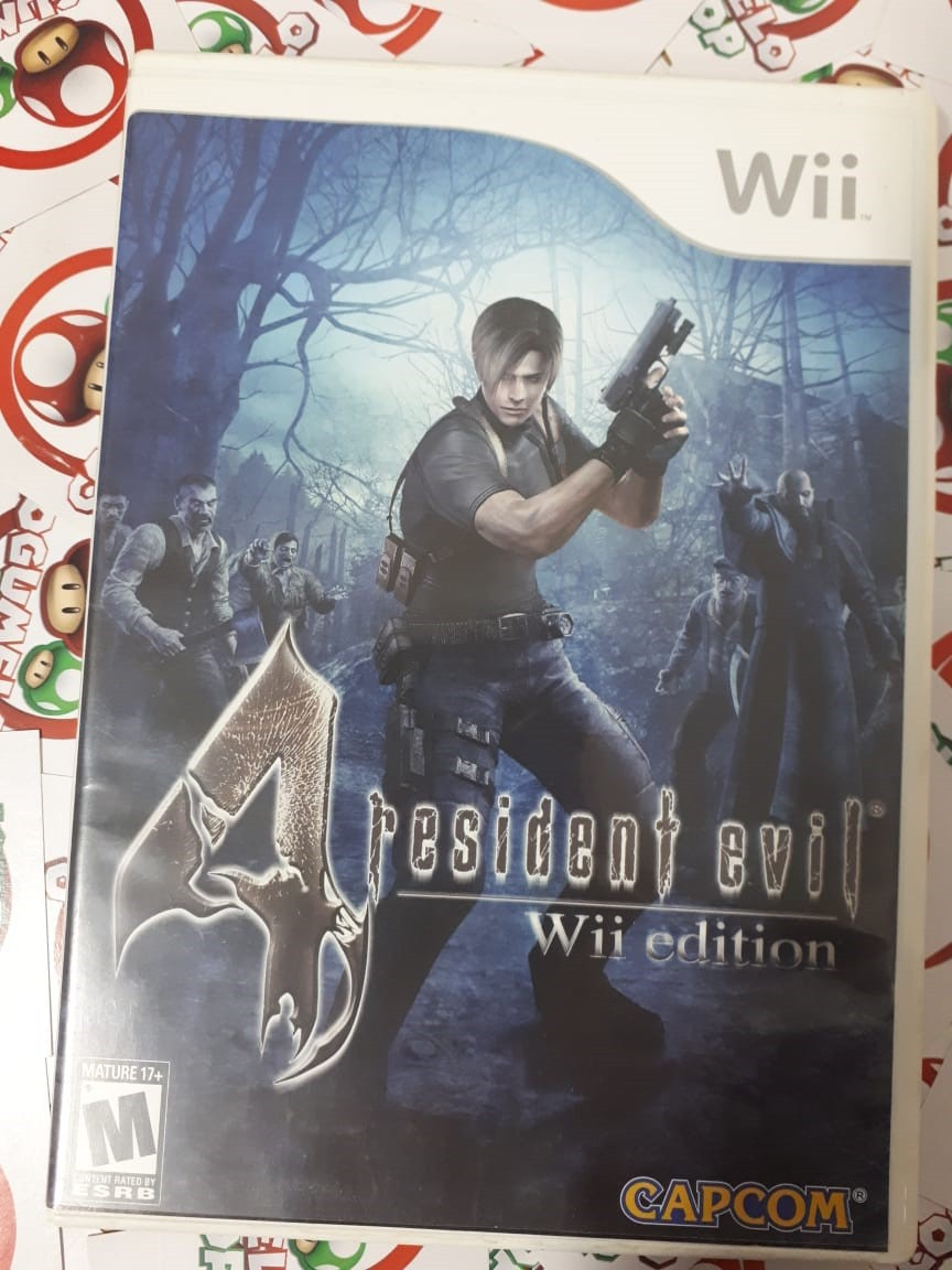 Resident Evil 4 Wii Edition - USADO - Nintendo Wii