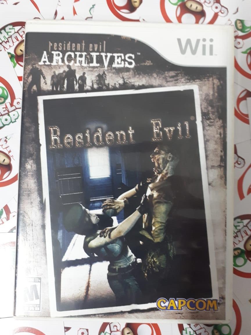 Resident Evil Archives - USADO - Nintendo Wii