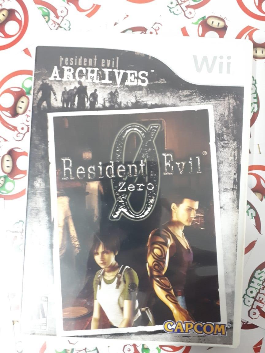 Resident Evil Archives: Resident Evil Zero - USADO - Nintendo Wii