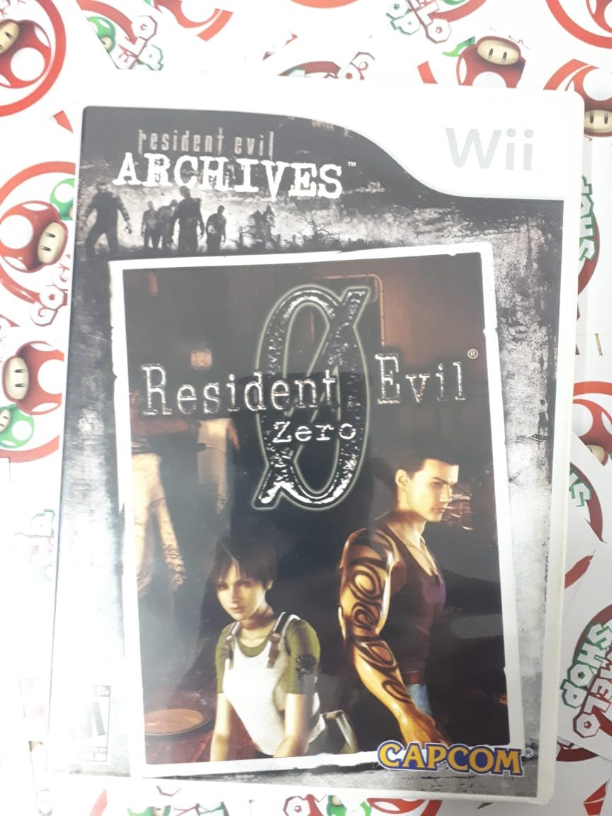 Resident Evil Zero - USADO - Nintendo Wii