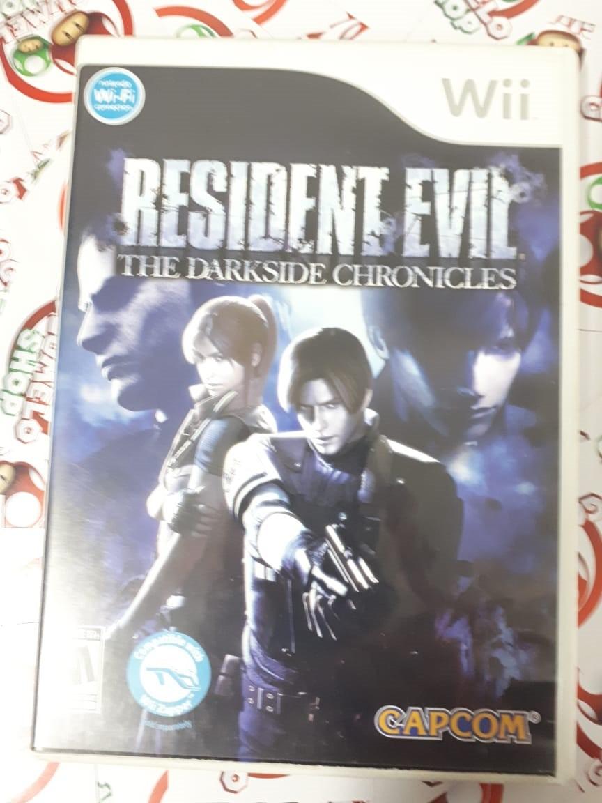 Resident Evil: The Darkside Chronicles - USADO - Nintendo Wii