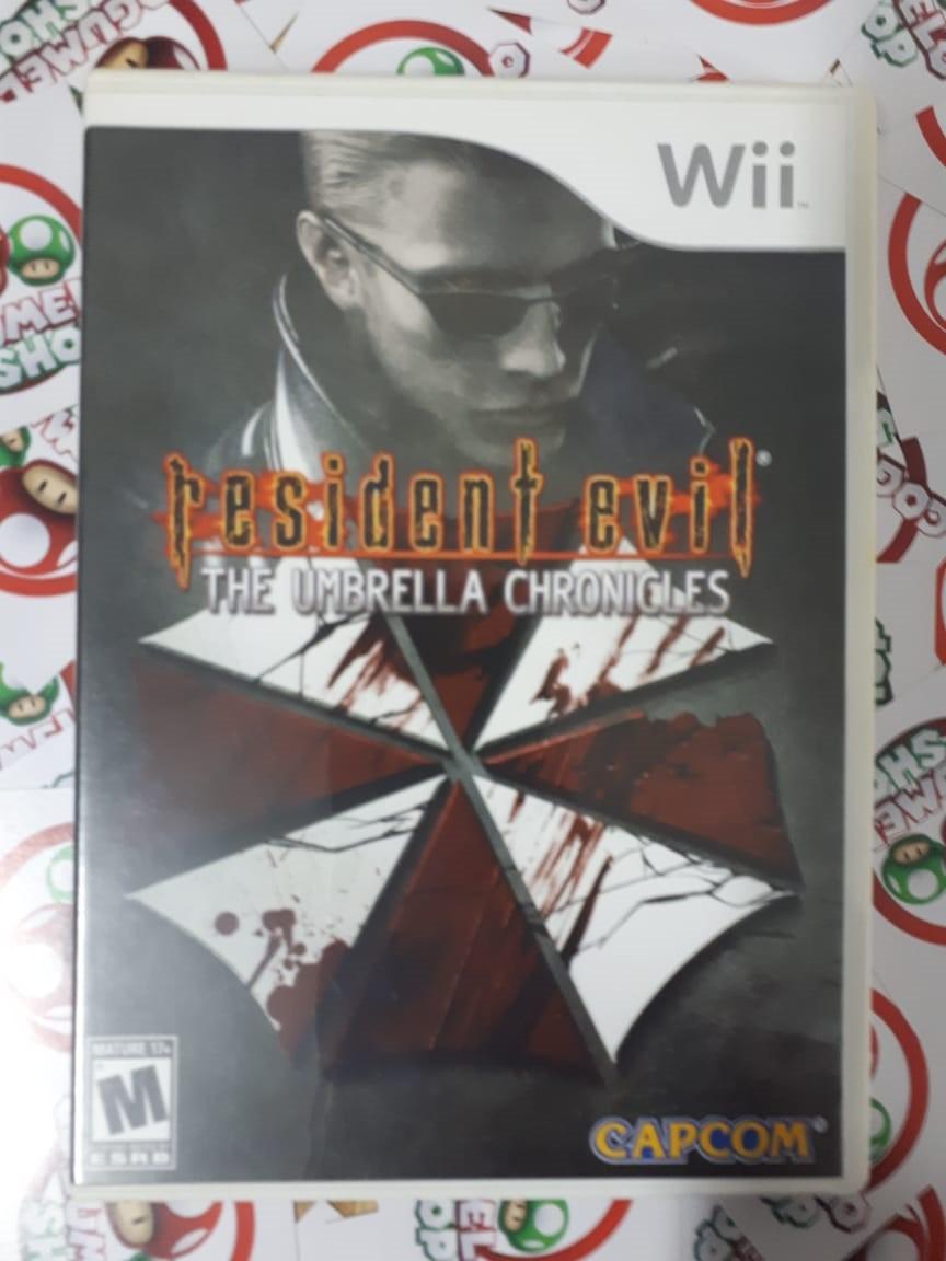 Resident Evil: The Umbrella Chronicles - USADO - Nintendo Wii