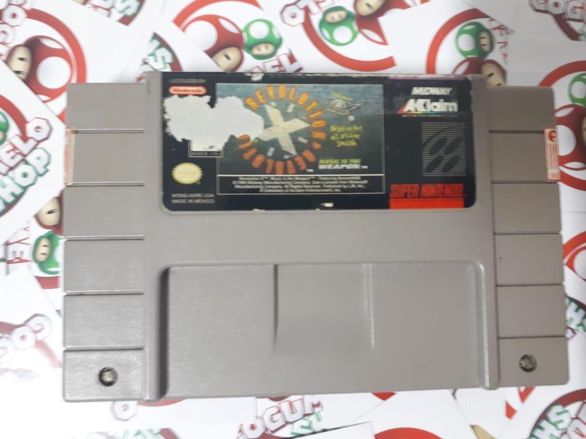 Revolution X - USADO - Super Nintendo