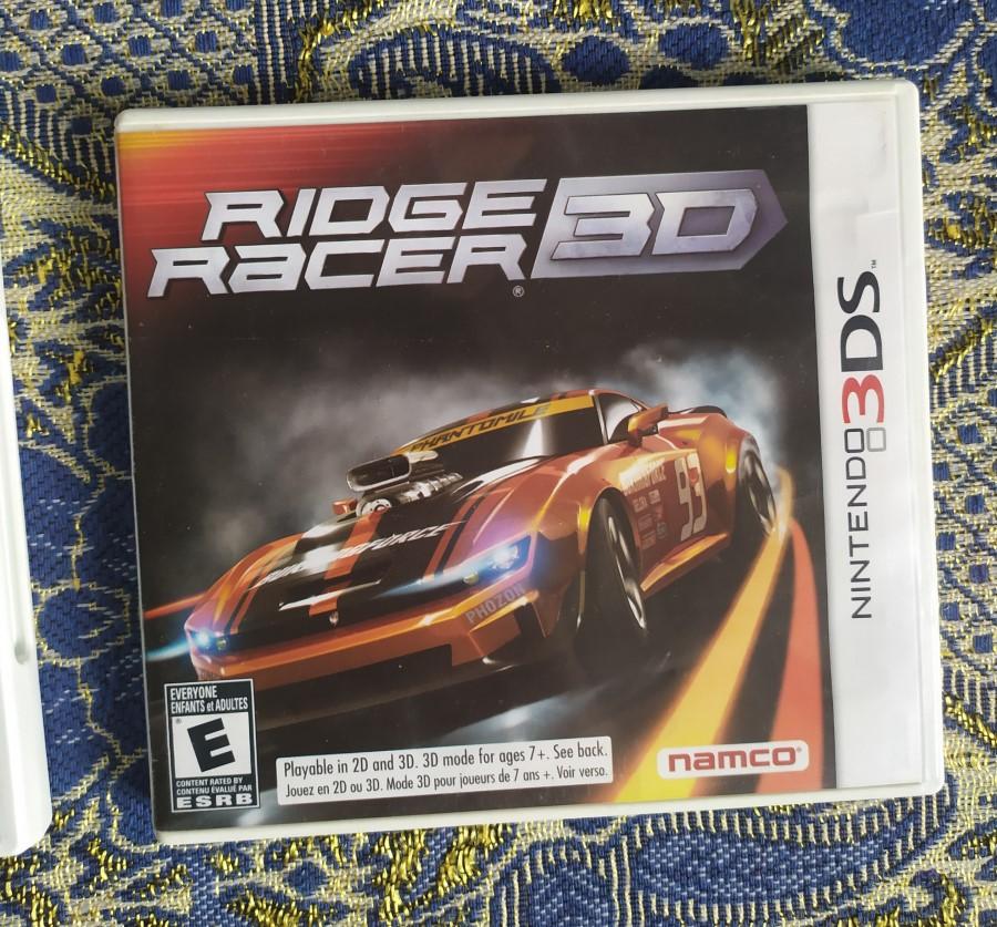 Ridge Racer 3D - Nintendo 3DS - Usado - Frete Grátis