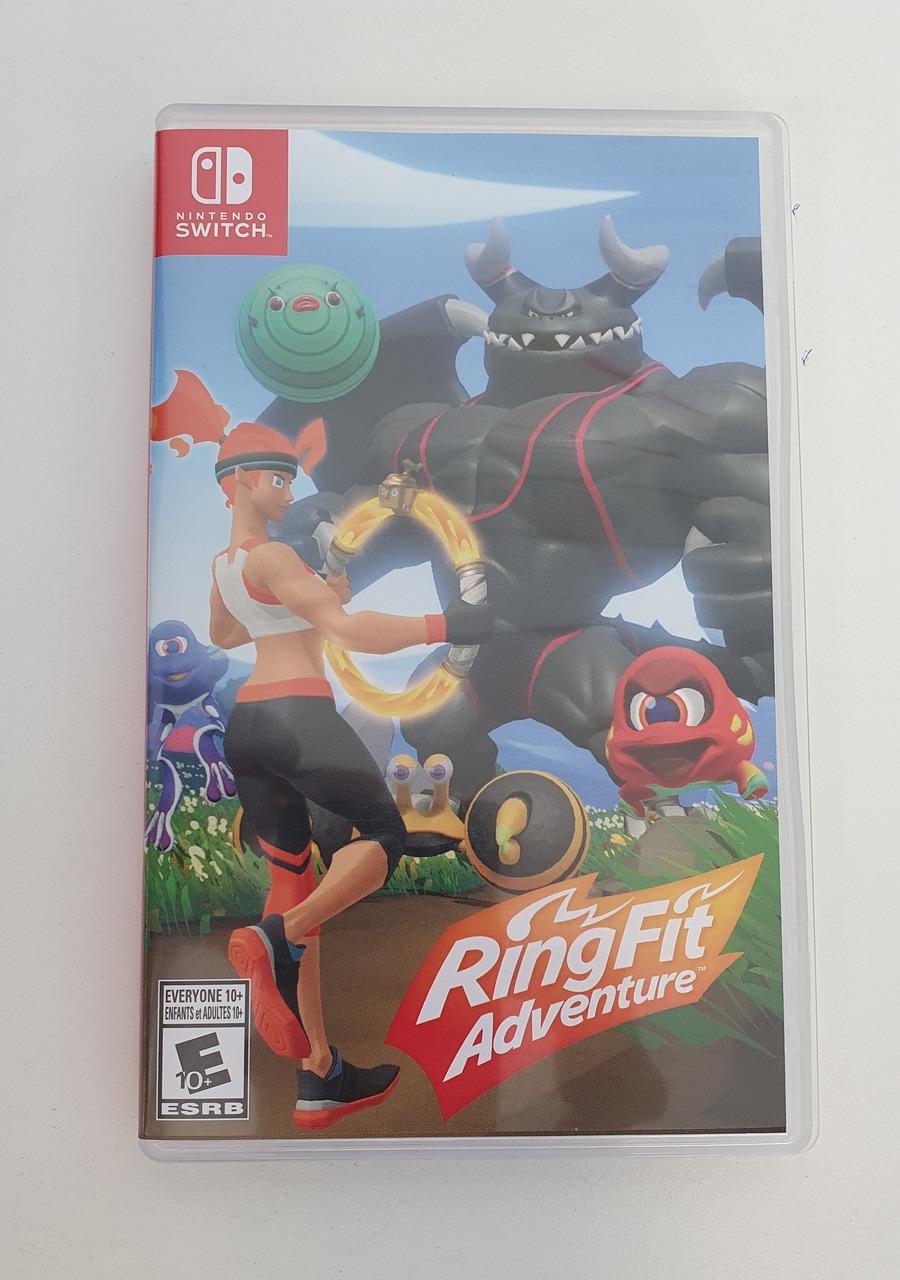 Ring Fit Adventure - Nintendo Switch - Usado
