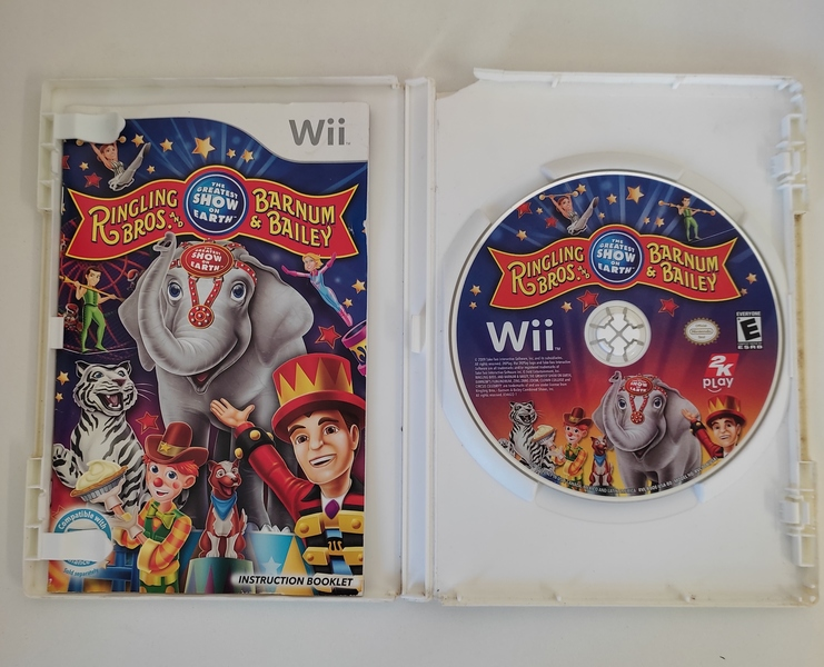 Ringling Bros and Barnum & Barbley - Nintendo Wii - Usado