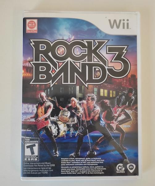 Rock Band 3 - Nintendo Wii - Usado