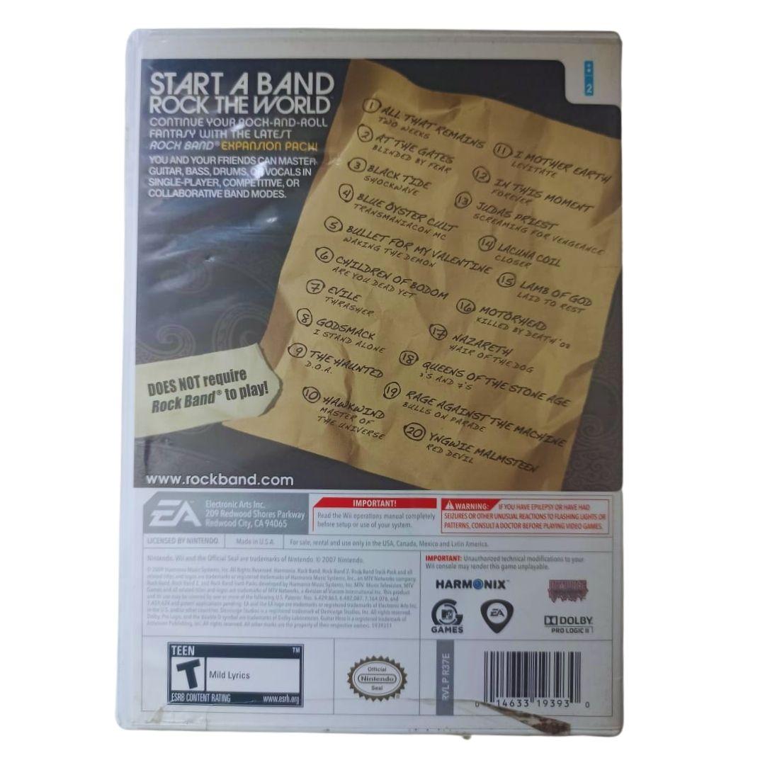 Rock Band: Metal Track Pack - Nintendo Wii - Usado