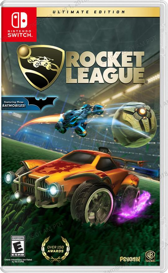 Rocket League Ultimate Edition (US) - Nintendo Switch - ENVIO INTERNACIONAL