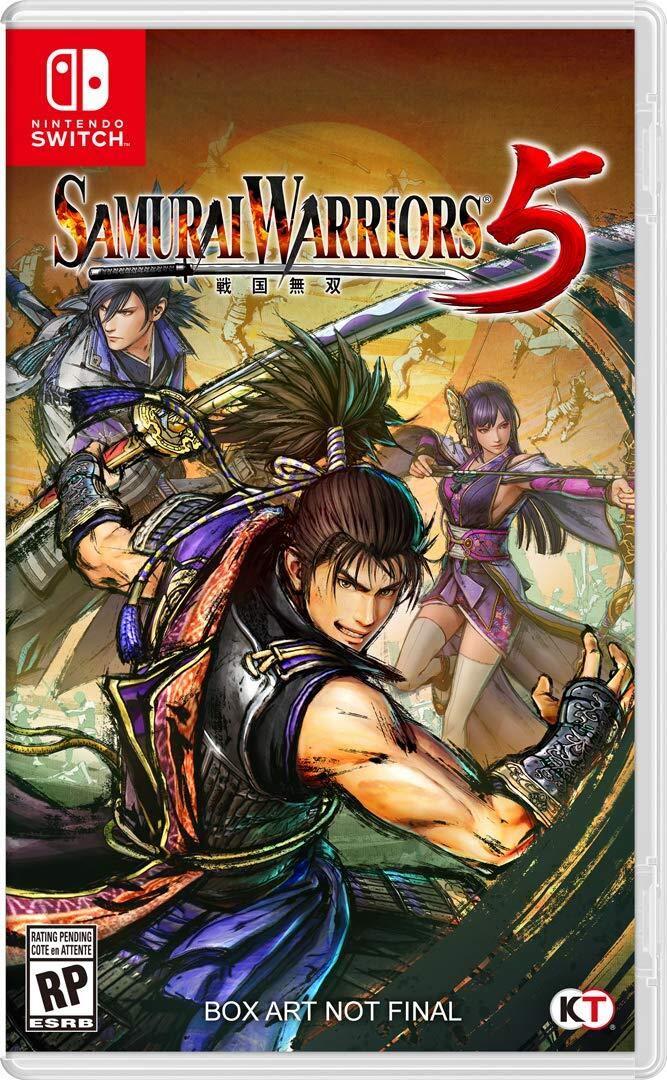 Samurai Warriors 5 - Nintendo Switch - Pré Venda