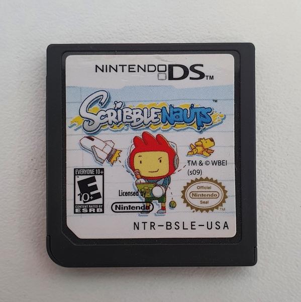 Scribblenauts - Cartucho - Nintendo DS - Usado