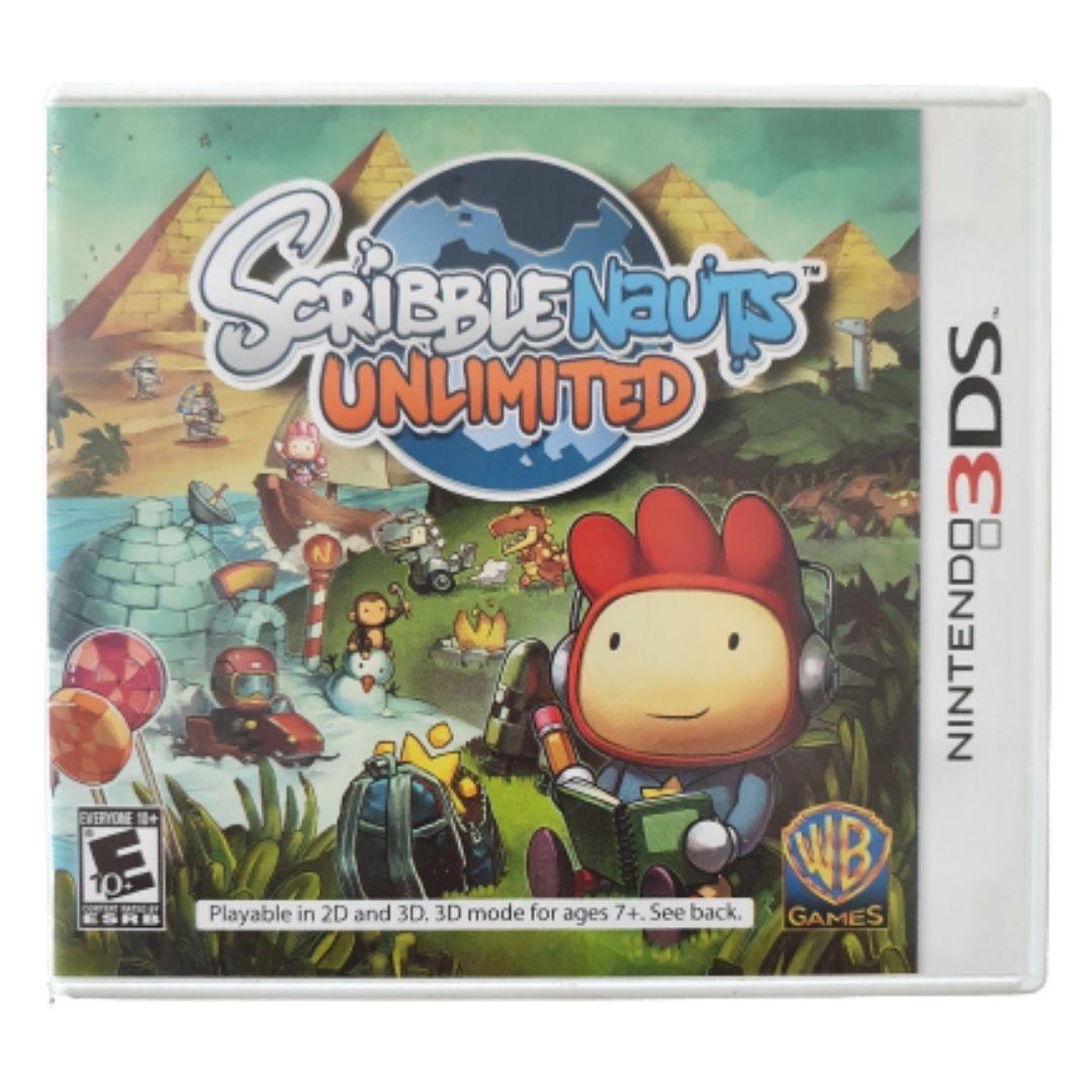 Scribblenauts Unlimited - USADO - Nintendo 3DS