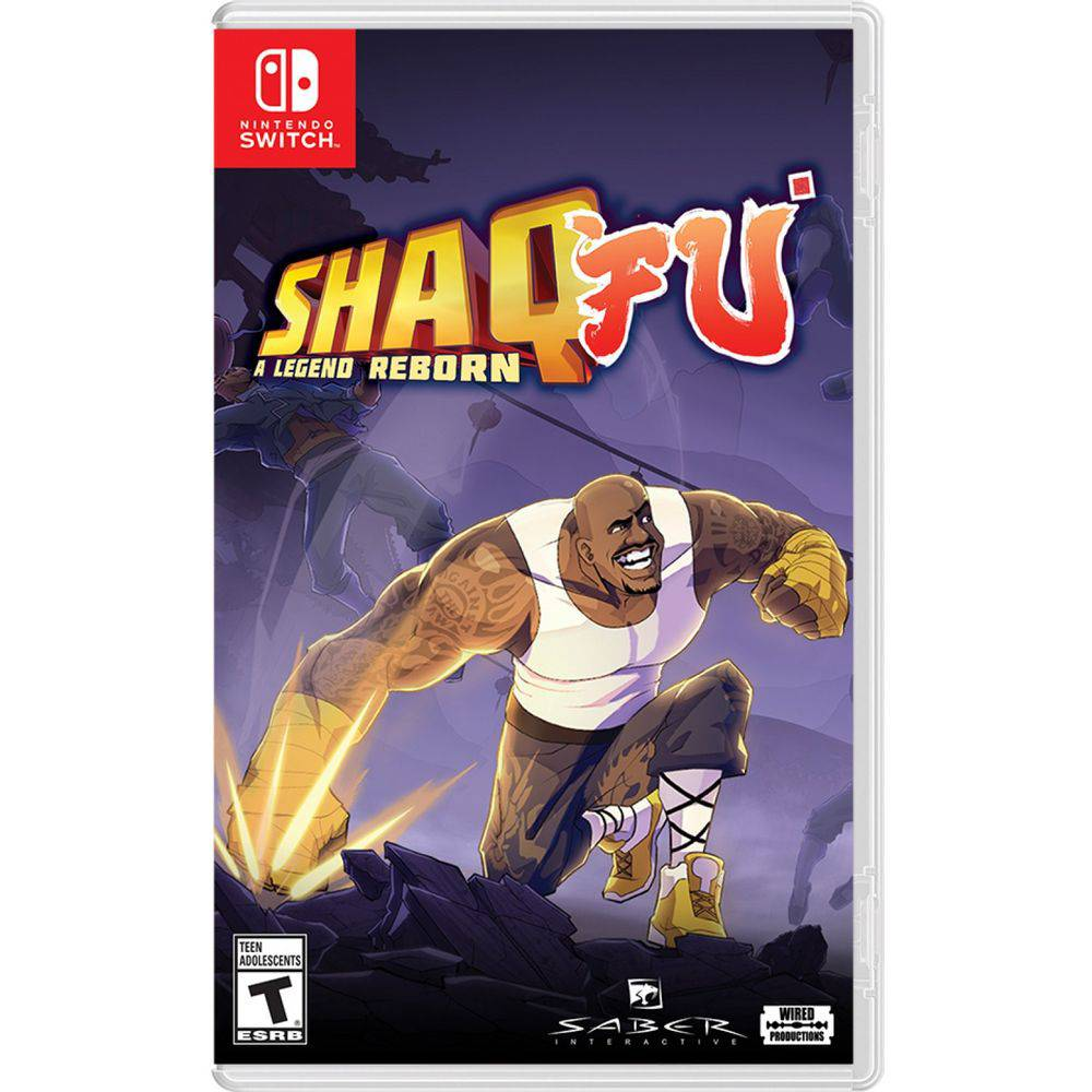 Shaq Fu A Legend Reborn - Nintendo Switch
