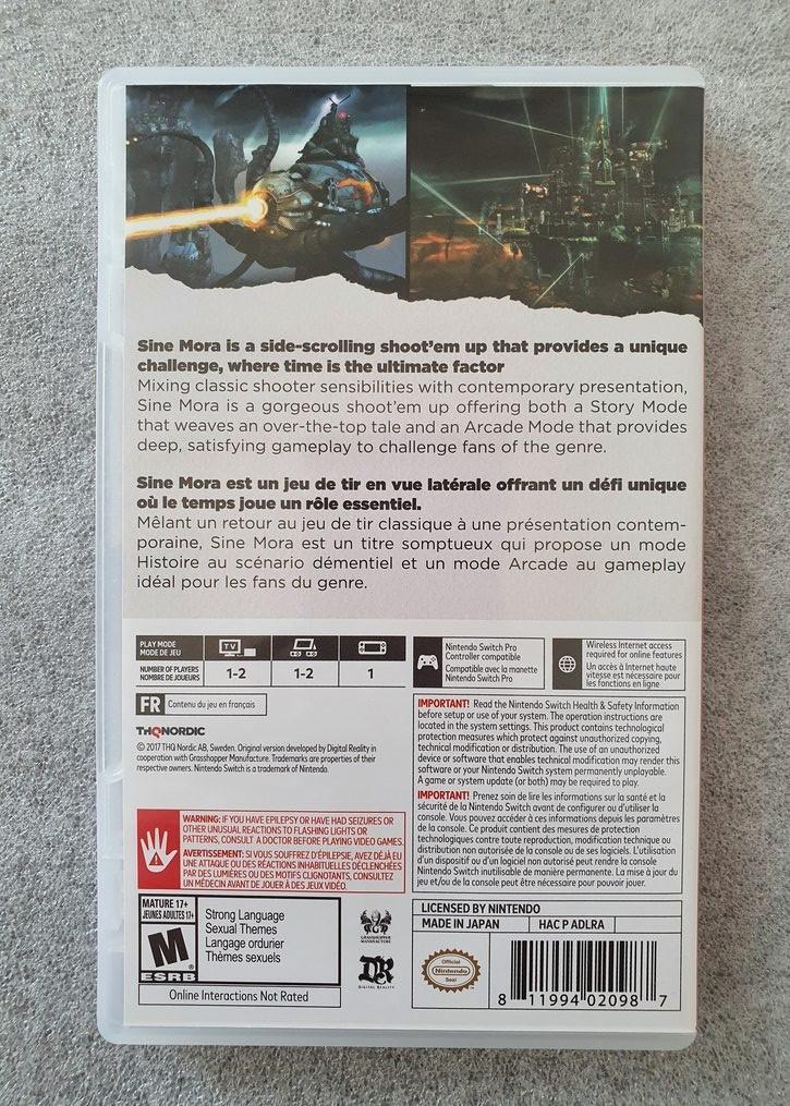 Sine Mora Ex - Nintendo Switch - Usado