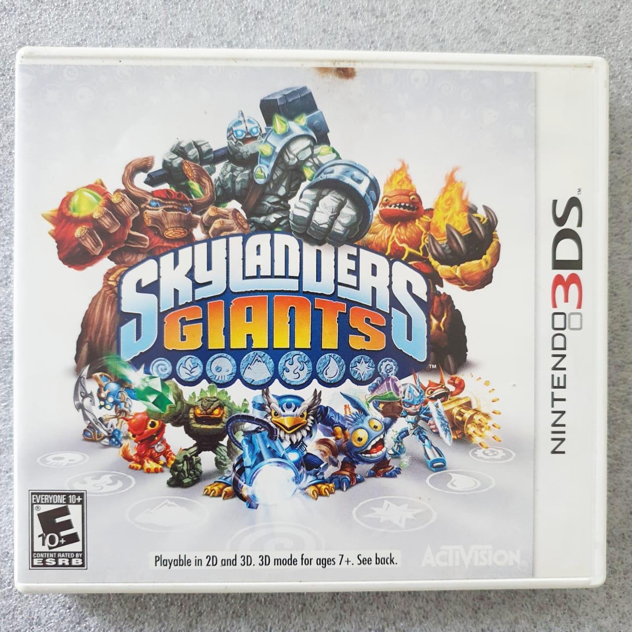 Skylanders: Giants - USADO - Nintendo 3DS