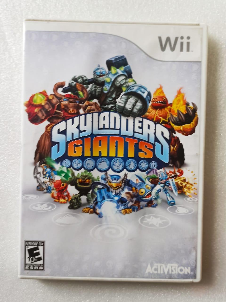 Skylanders: Giants - USADO - Nintendo Wii