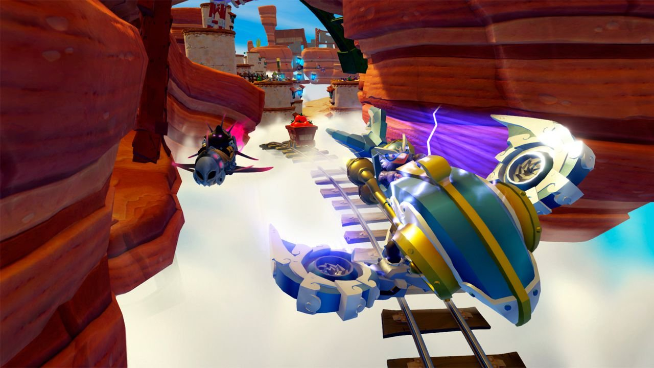 Skylanders Superchargers Racing - Usado - Wii