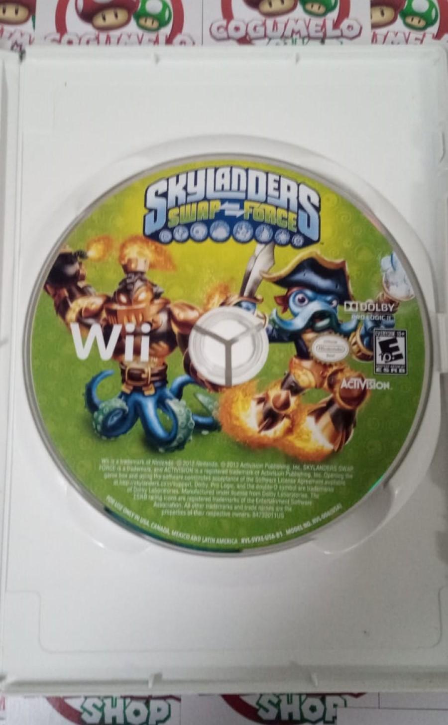 Skylanders: Swap Force - USADO - Nintendo Wii