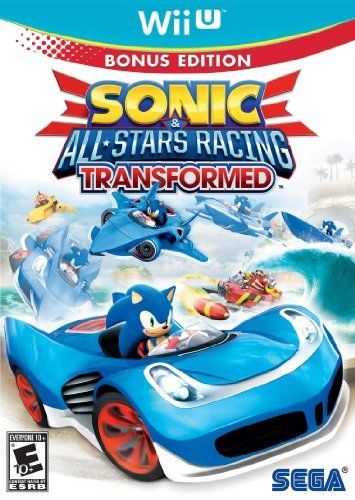 Sonic & All-Stars Racing Transformed - Wii U - USADO