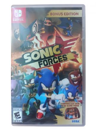 Sonic Forces - Nintendo Switch - Usado