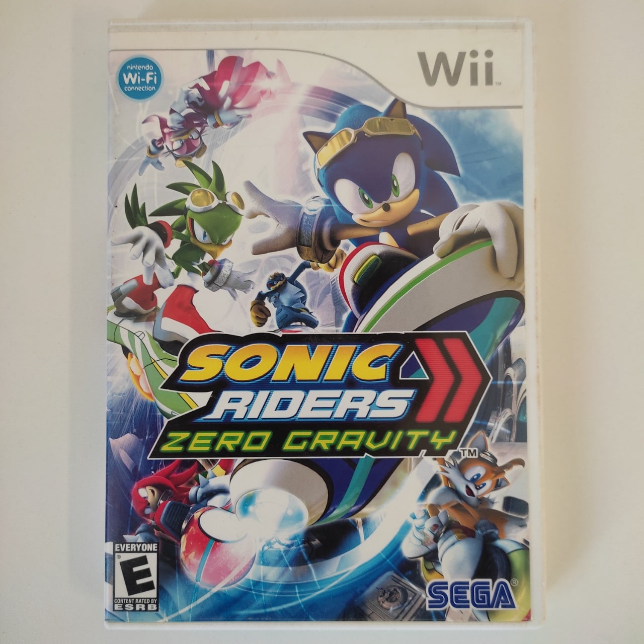 Sonic Riders Zero Gravity - Nintendo Wii - Usado