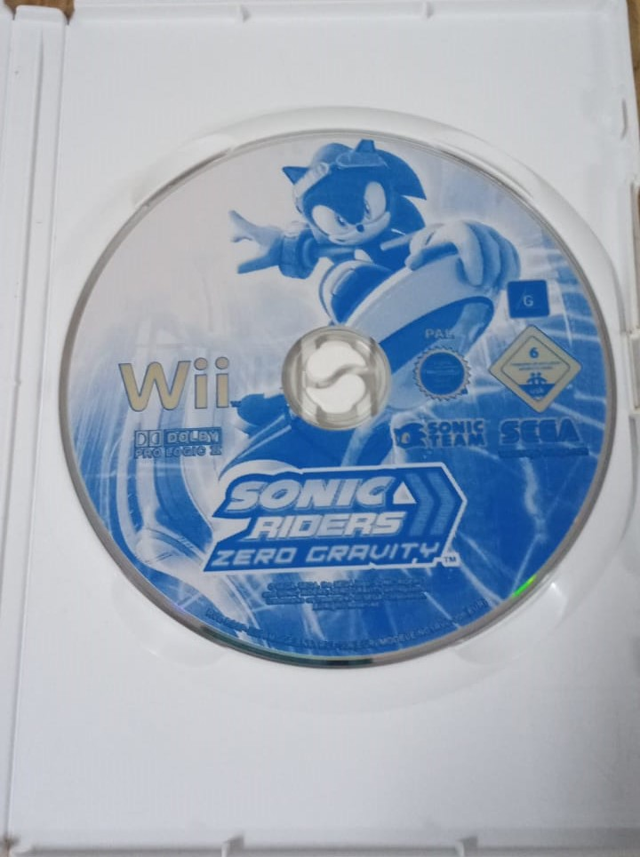 Sonic Riders: Zero Gravity - USADO - Nintendo Wii