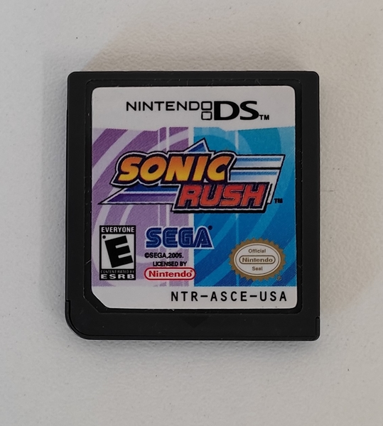 Sonic Rush - Cartucho - Nintendo DS - Usado