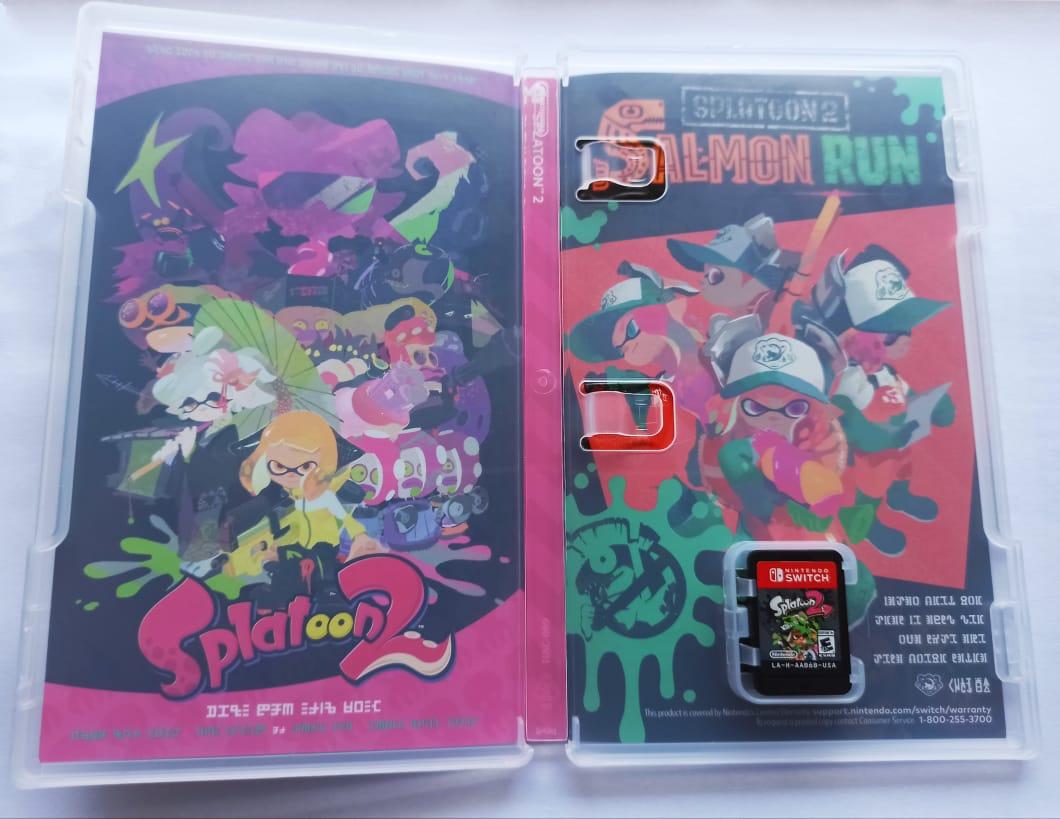 Splatoon 2 - Nintendo Switch - Usado