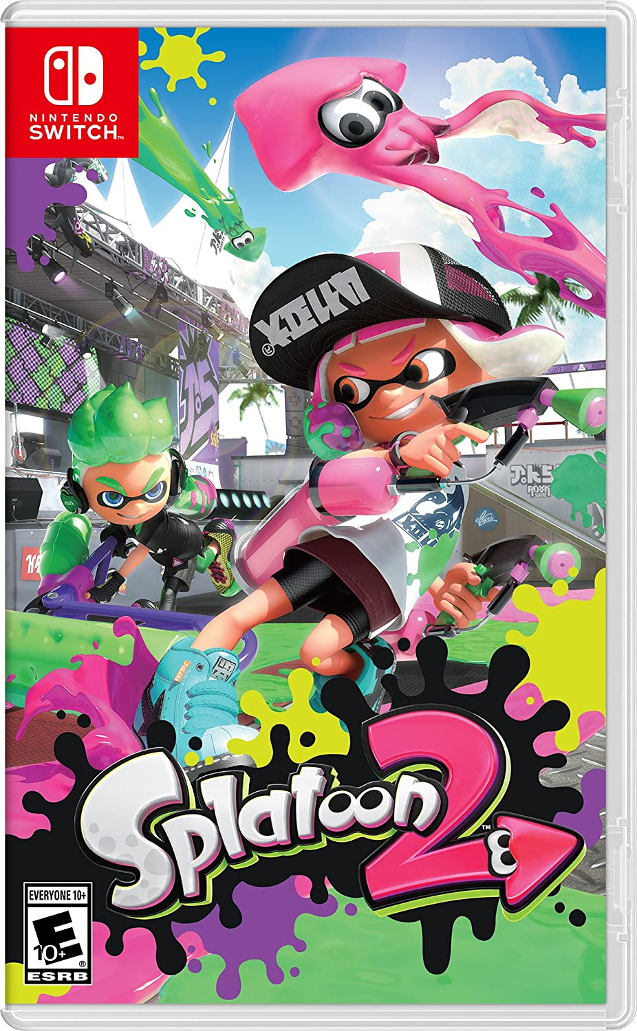 Splatoon 2 (US) - Nintendo Switch - ENVIO INTERNACIONAL