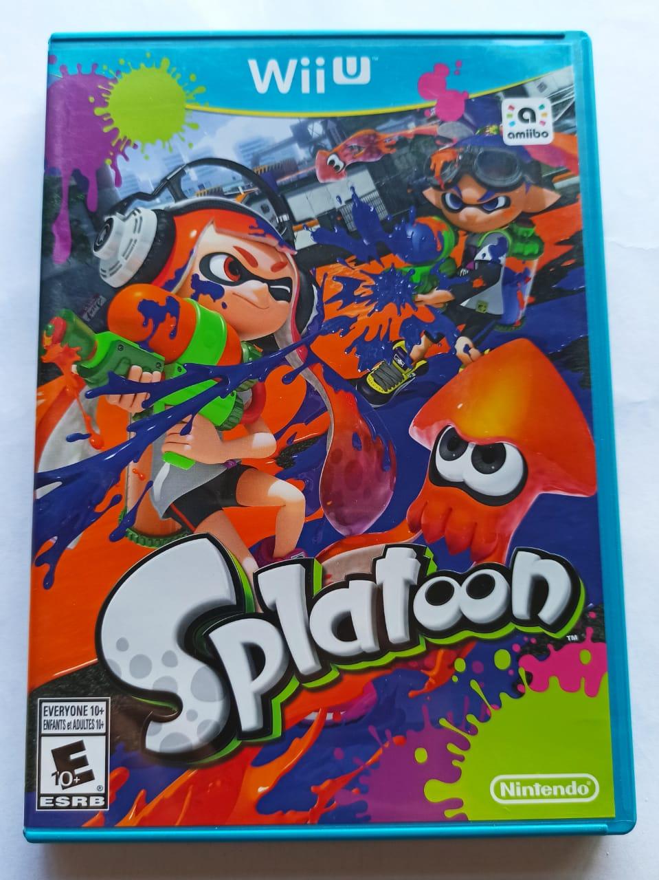 Splatoon   - USADO - Nintendo Wii U