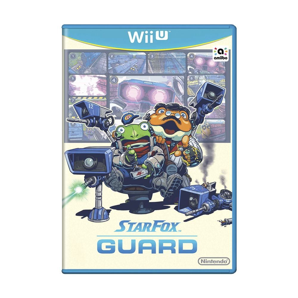 Star Fox GUARD - USADOS - Nintendo Wii U