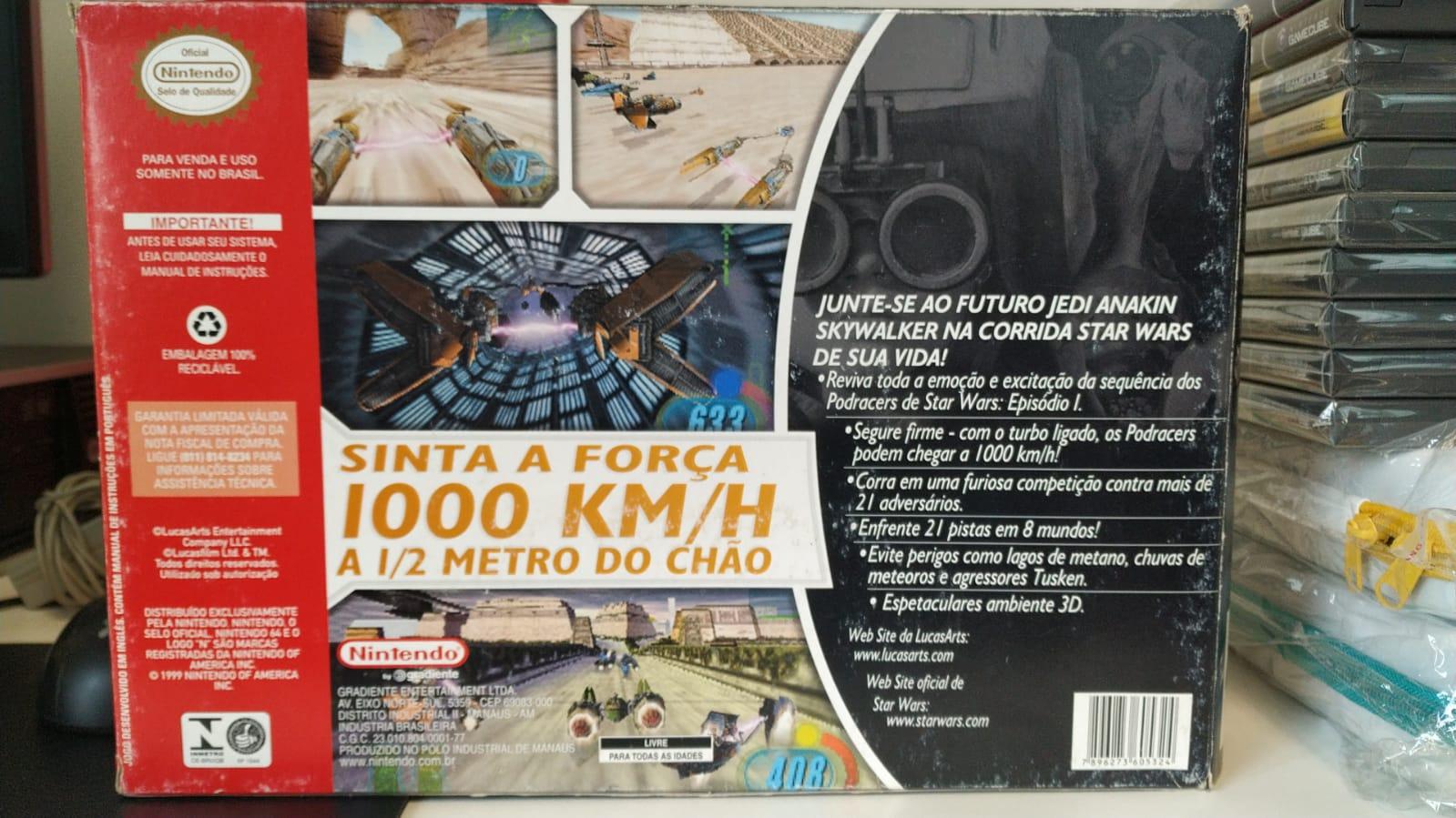 Star Wars -Episódio I- Racer - Cartucho - Nintendo 64 - Usado