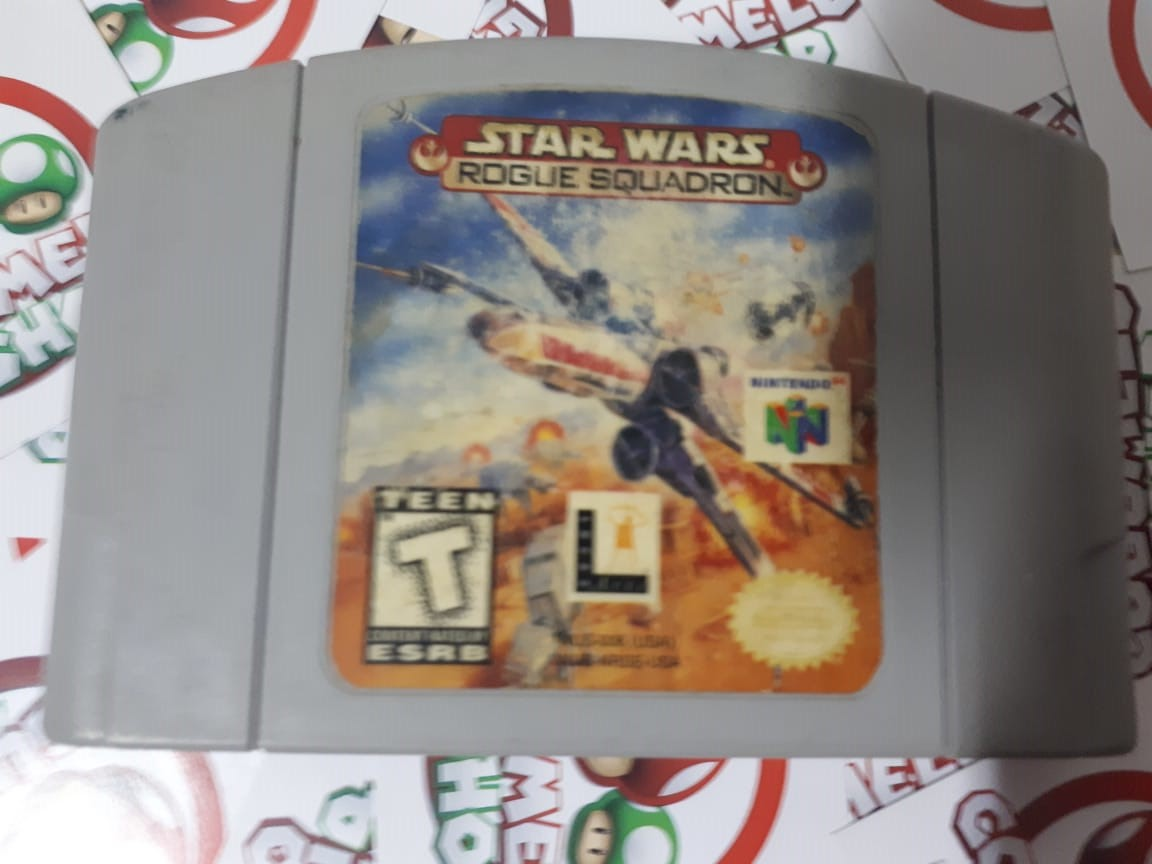 Star Wars Rogue Squadron - Cartucho - Nintendo 64 - Usado