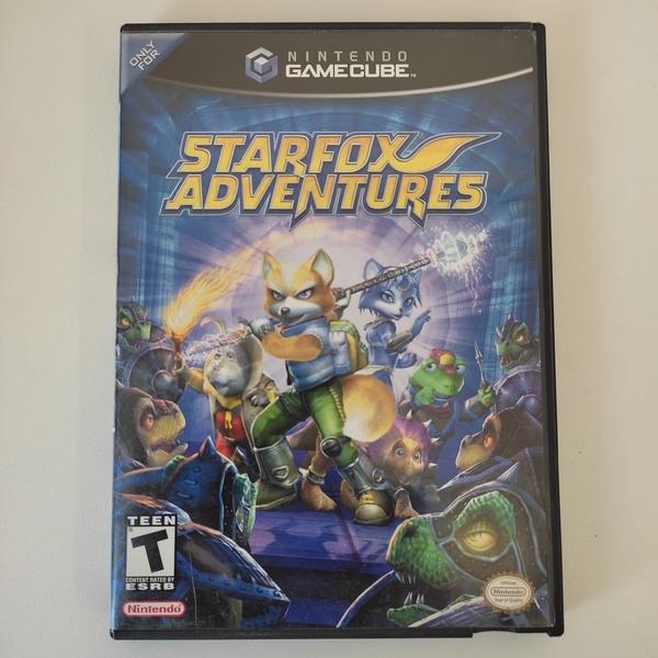 StarFox Adventures - Nintendo GameCube - Usado