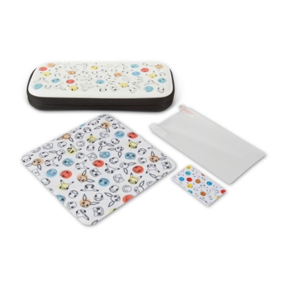 Stealth Case Kit Pokemon Face and Dots PowerA - Nintendo Switch Lite