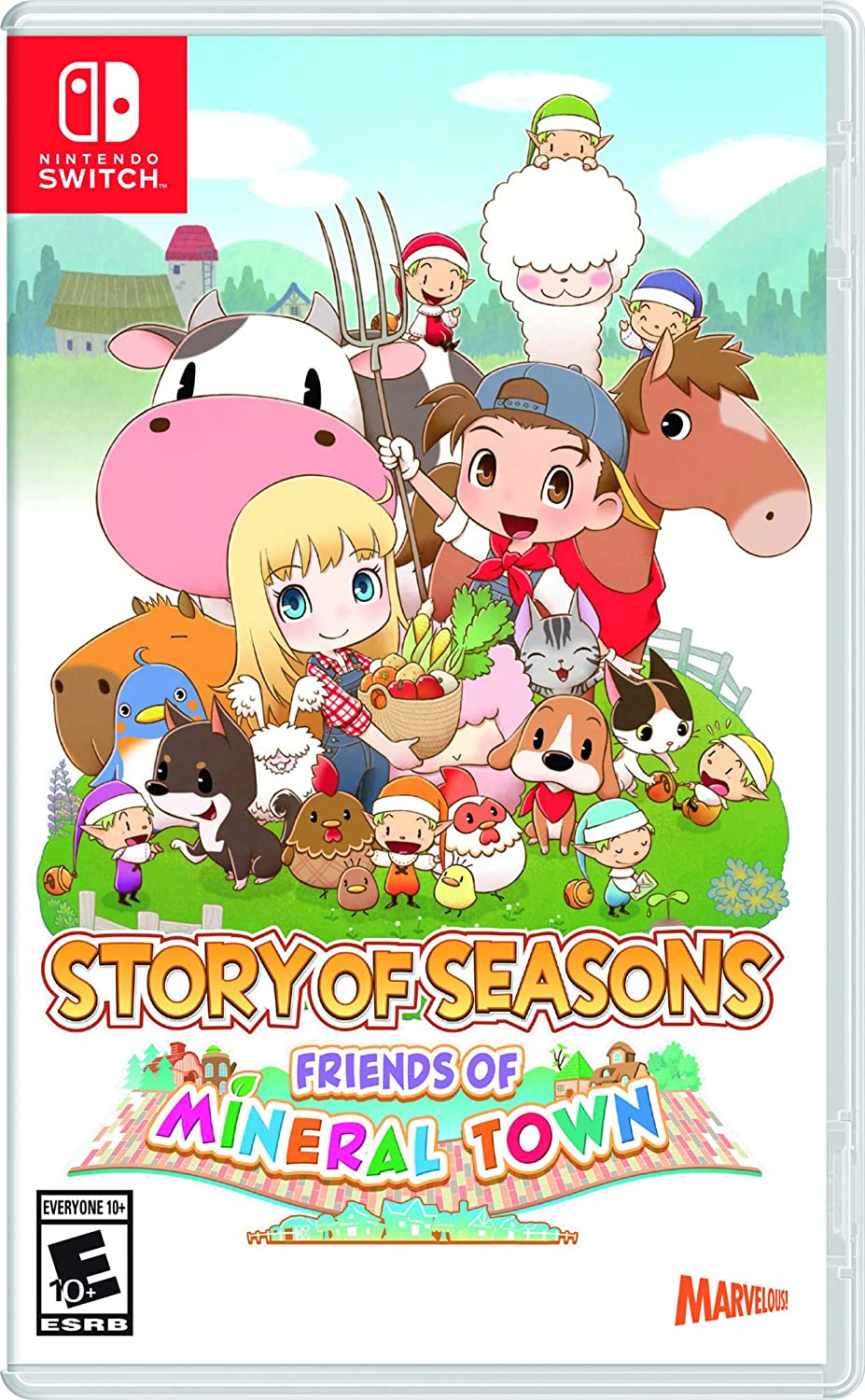Story of Seasons: Friends of Mineral Town (Pré-venda) - Nintendo Switch
