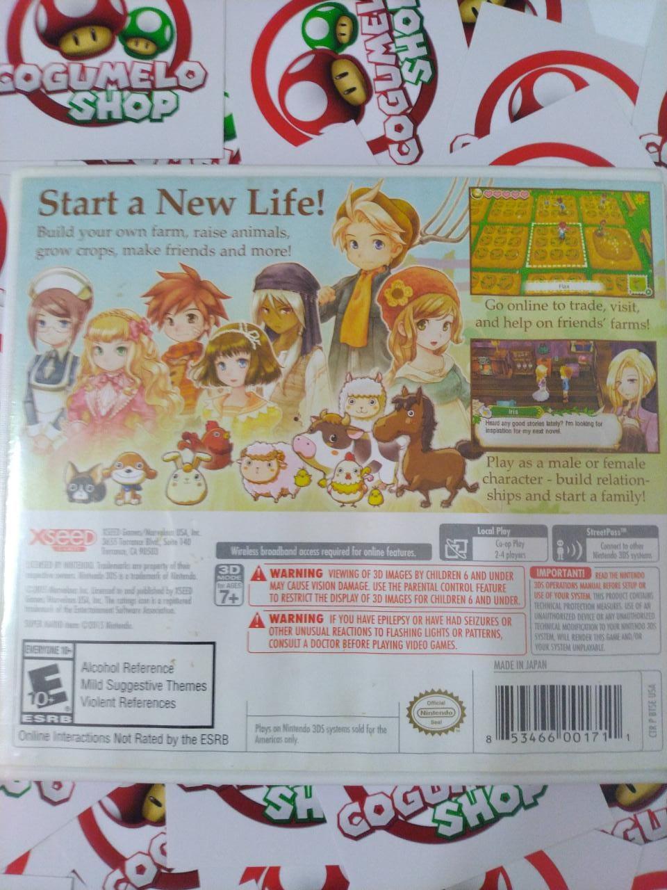 Story of Seasons - USADO - Nintendo 3DS