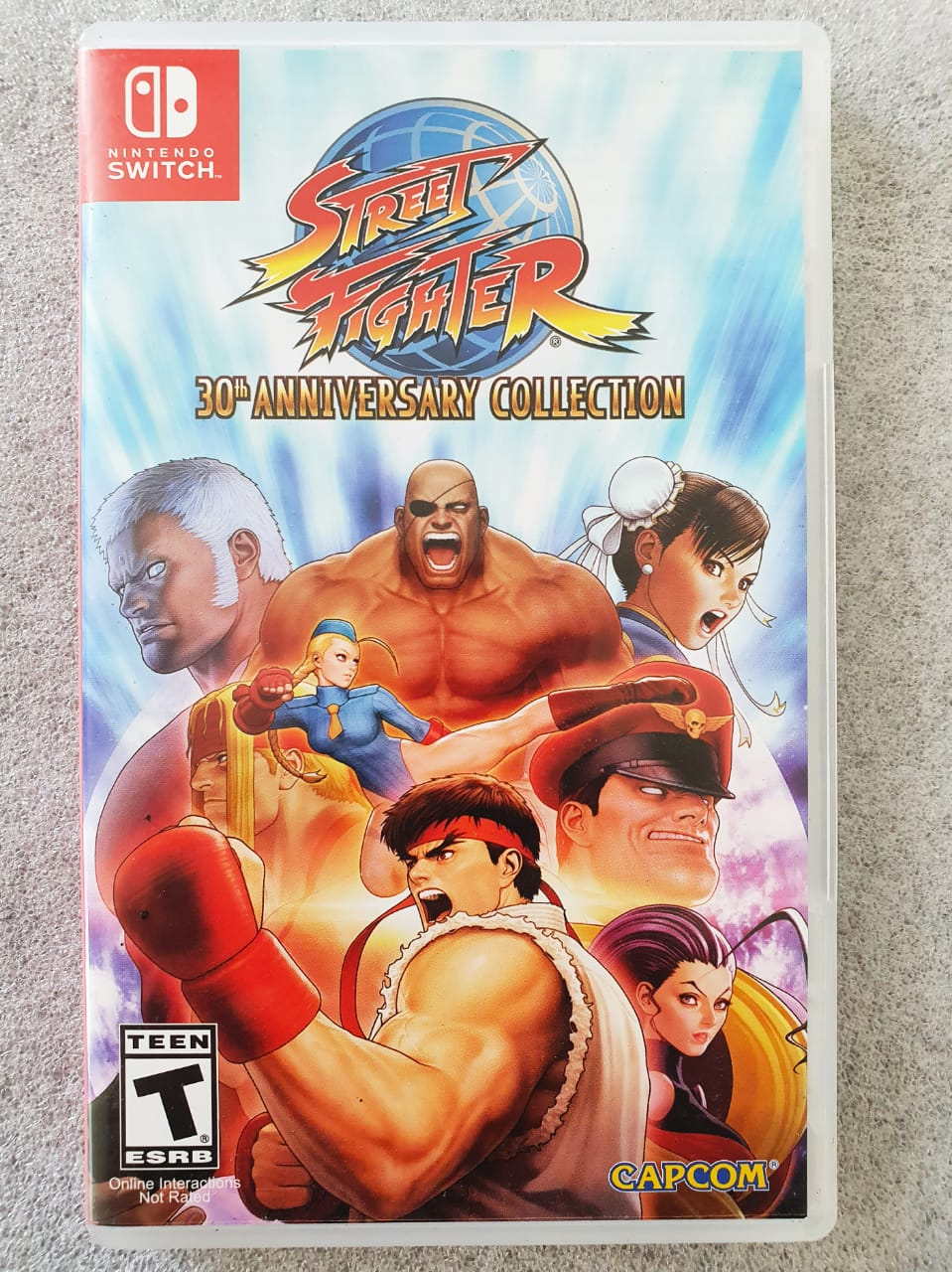 Street Fighter 30Th Anniversary Collection - USADO -  Nintendo Switch