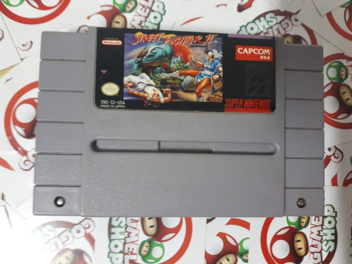 Street Fighter II - USADO - Super Nintendo