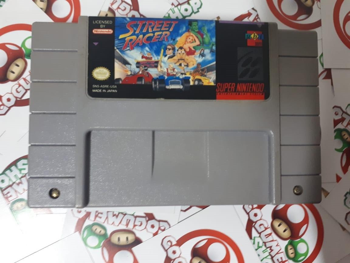 Street Racer - USADO - Super Nintendo