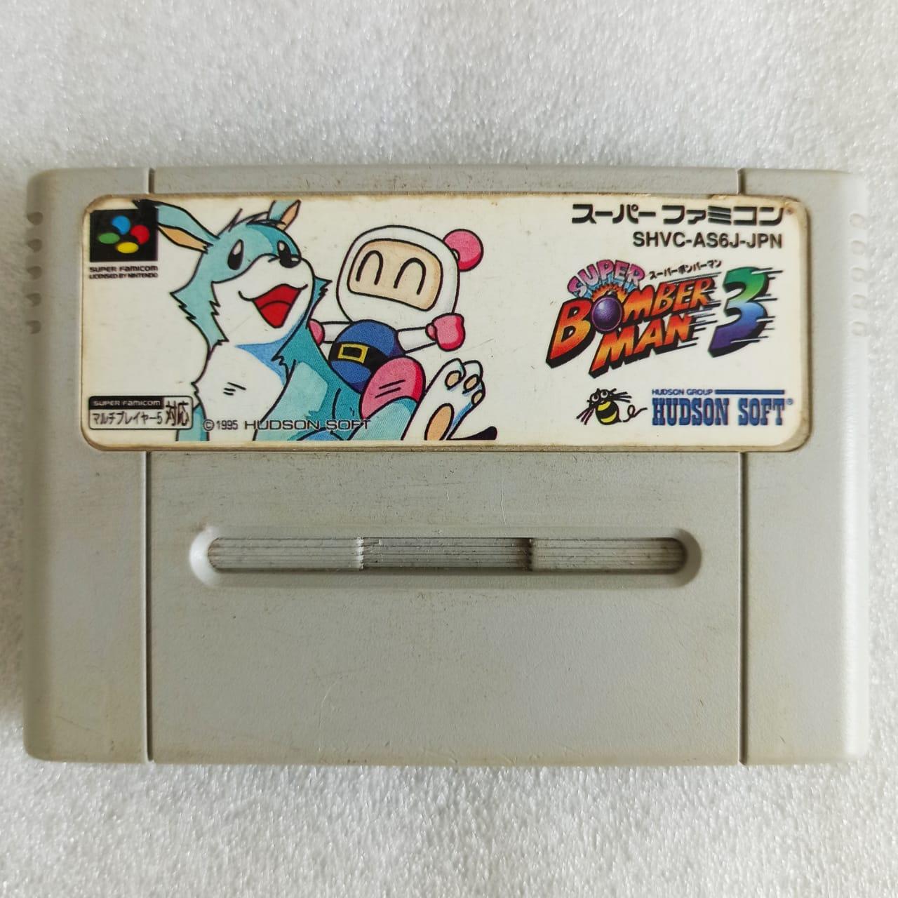 Super Bomberman 3 (Paralelo) - Usado - Super Nintendo