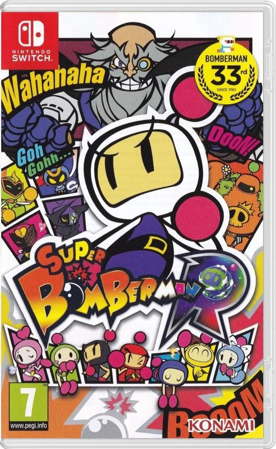 Super Bomberman R (EUR) - Nintendo Switch - ENVIO INTERNACIONAL