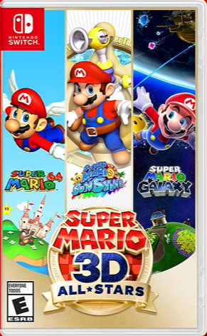 Super Mario 3D All-Stars - Nintendo Switch - Mídia Física
