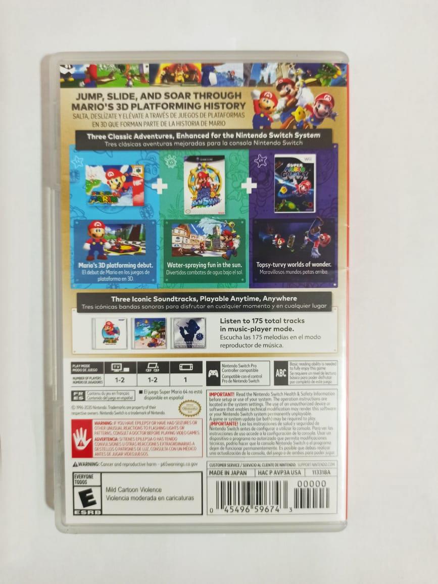 Super Mario 3D All-Stars - USADO - Nintendo Switch