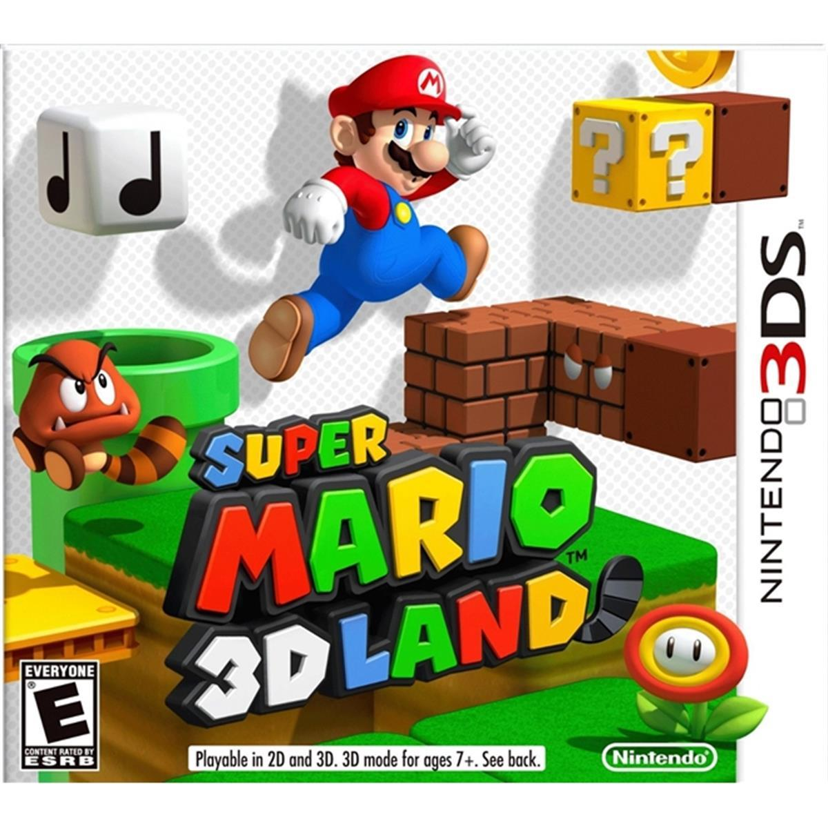 Super Mario 3D Land - Nintendo 3DS USADO