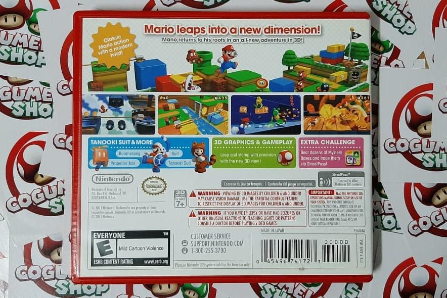 Super Mario 3D Land - Nintendo 3DS - USADO - Frete Grátis