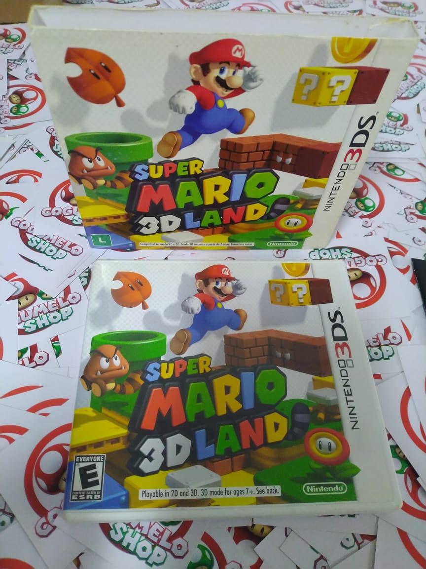 Super Mario 3D Land - USADO - Nintendo 3DS